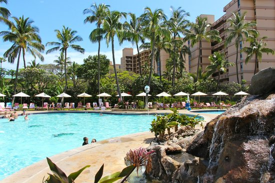 Ka'anapali Beach Club: Lots of chairs