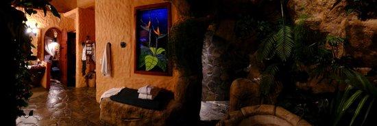 Peace Lodge: Shower room