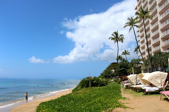 Ka'anapali Beach Club: Beach