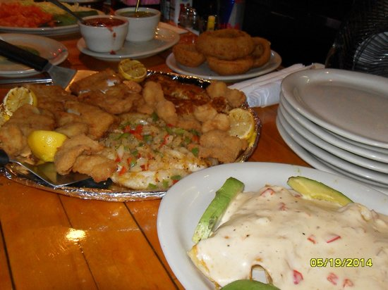 Blackbeard's Restaurant: Fresh trout catch