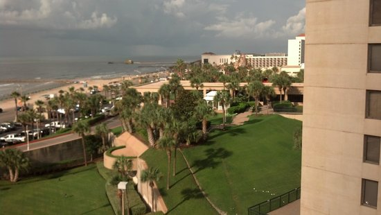 Holiday Inn Resort Galveston-On The Beach: View to the West/ San Luis Property