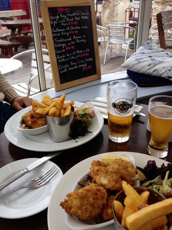 The Boatyard Restaurant: Lunch for 2