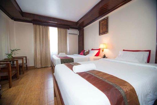 Angkor Pearl Hotel: Family Room