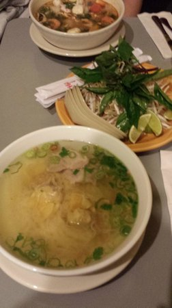 Pho and I: Wonton Noodle Soup, Chicken stock with pork and wontons, good