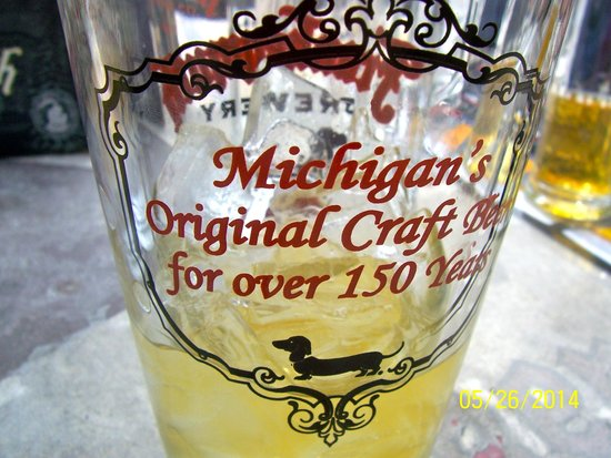Frankenmuth Brewery: Have a pint and sit awhile!