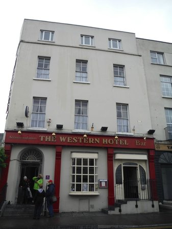 The Western Hotel: Front of hotel