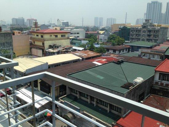 My Dian Suites: View of slum area