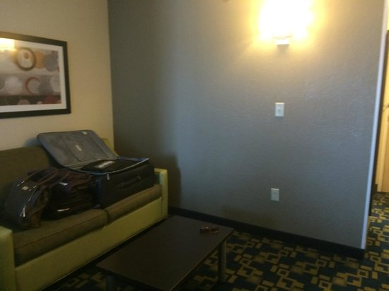Comfort Suites Downtown: Saleta