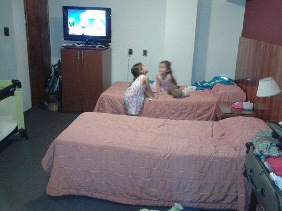 Posadas Hotel: Hab cuadruple
