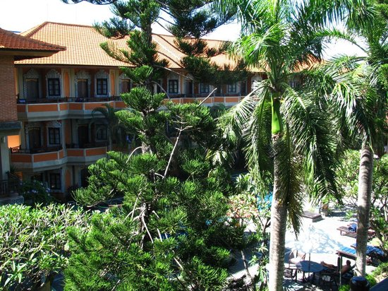 Adi Dharma Hotel: View from family room