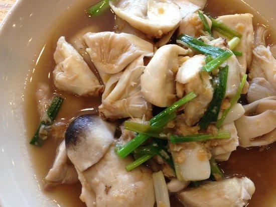 Sawasdee Restaurant: Crab with Mushroom