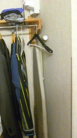 Quality Inn Auburn Hills : closet