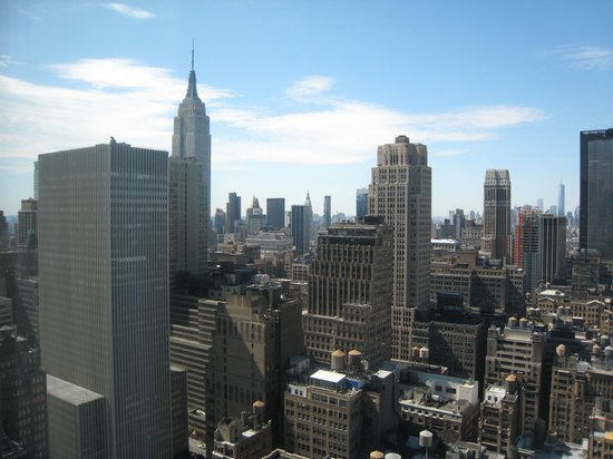 Hilton Times Square : View from 4312 - Daytime