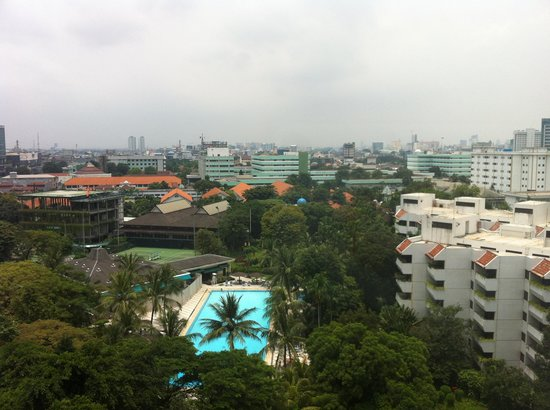 Hotel Borobudur Jakarta : View from the room