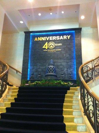 Hotel Borobudur Jakarta : Lobby