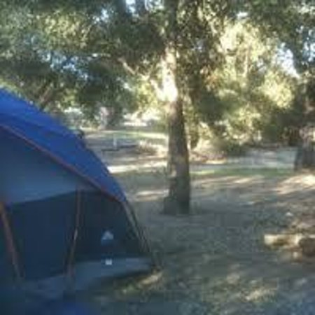 The Oaks at Sacred Rocks RV Park : Don't forget your tent!