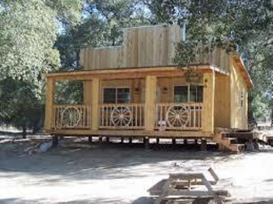 Boulevard, CA: The bunkhouse sleeps 8!