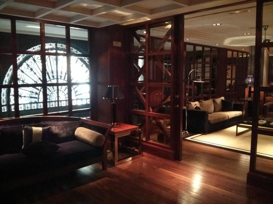 Hotel 1898: 1st floor outside of breakfast area