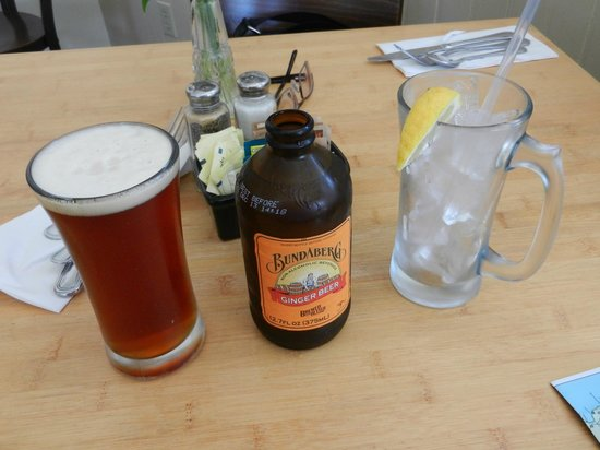 Mendocino Cafe: The non-alcoholic Root Beer was a hit
