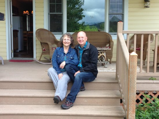 Hopewell Bed & Breakfast: End of a happy weekend