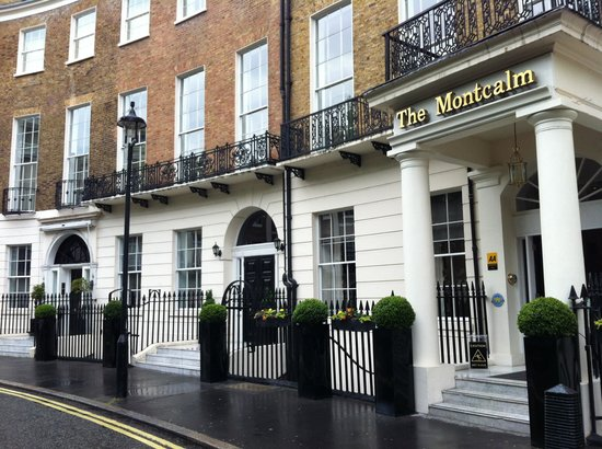 The Montcalm London Marble Arch: exterior of hotel