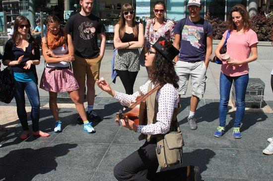 Wild SF Walking Tours: Let's sing, people!