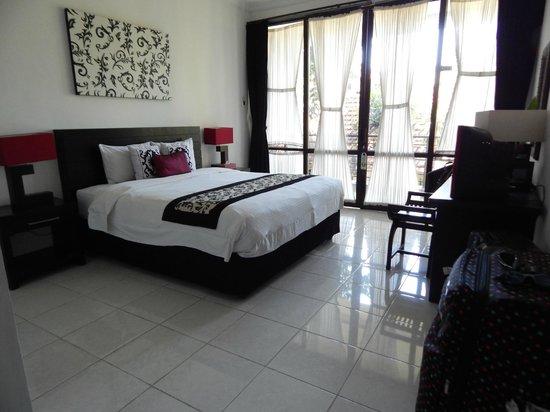 Puri Maharani Boutique Hotel & Spa: la chambre 203 en étage