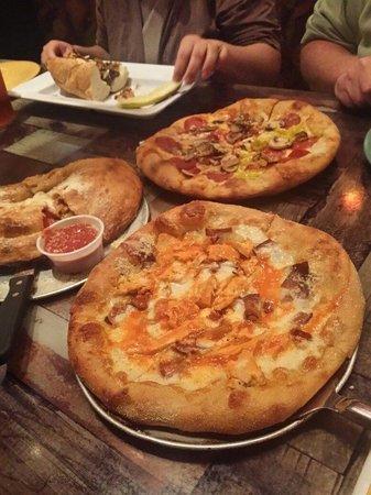Mellow Mushroom: Buffalo Chicken Pizza