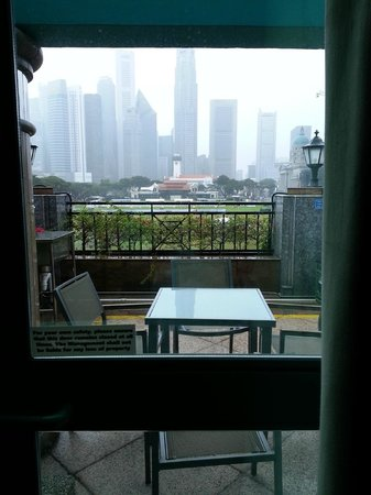 The Residence At Singapore Recreation Club: Room 322 with the shared balcony