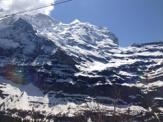 Jungfraujoch: First Views of the Mountains
