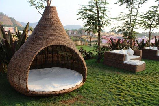 Seating Area Picture Of Della Adventure Resorts Lonavala Tripadvisor