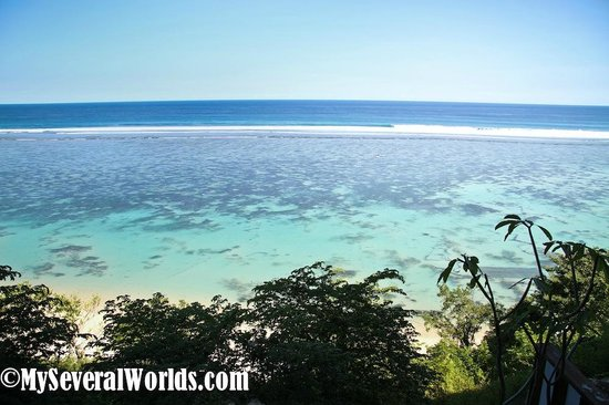Samabe Bali Suites & Villas: The view from our balcony in the West Suites