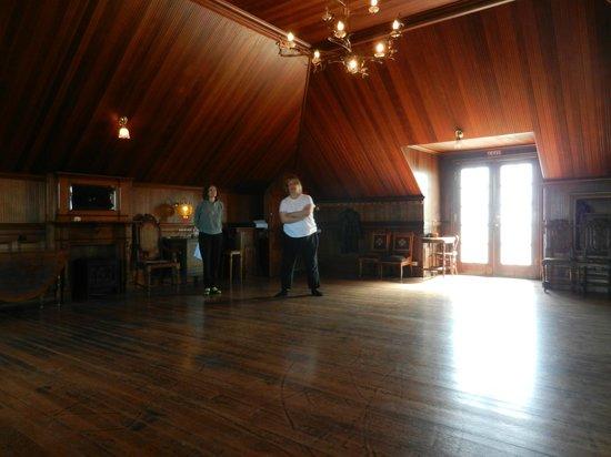"""Weller House Inn: The """"Ballroom"""" on the top floor"""