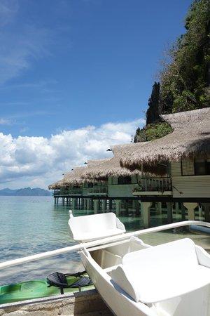 El Nido Resorts Miniloc Island: Water Cottage