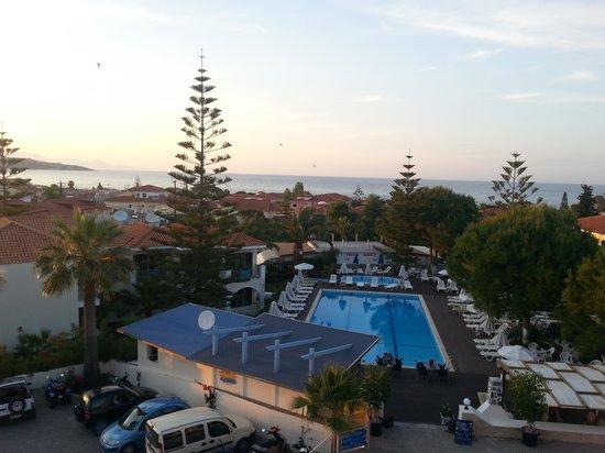 Contessa Hotel : View from contessa restaurant where we had breakfast =)