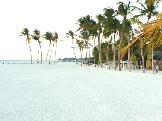 Kihaad Maldives: atardecer en la playa