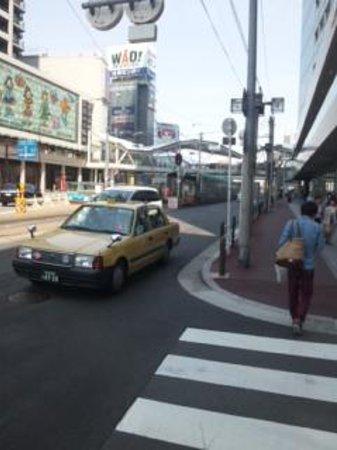 Tennoji Police Box: 前の通り