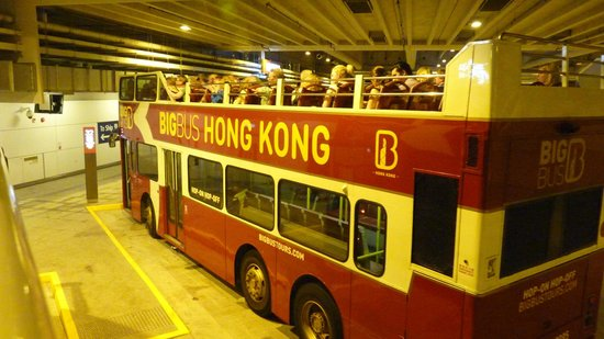Metropark Park Hotel Kowloon: Hong Kong night tour bus