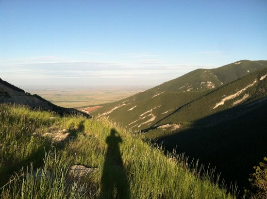 Bighorn National Forest: At one of the stop offs