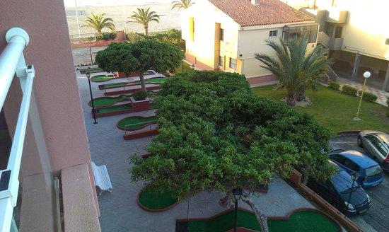 Playaluna Hotel : Minigolfbane ved Hotel Playaluna
