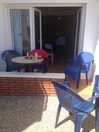 Els Llorers: our patio