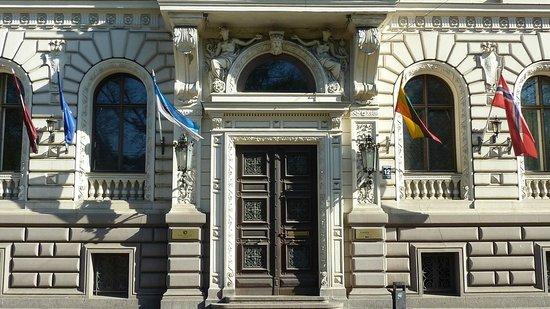 Europa Royale Riga: Hotel exterior