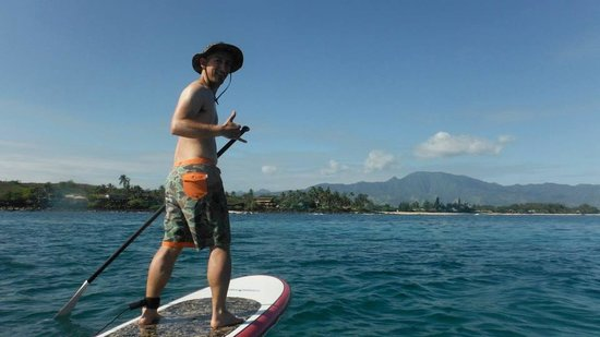 Stand Up Paddle Lessons -- Rainbow Watersports Adventures : Shaka!