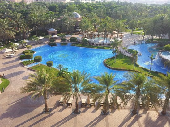 Emirates Palace: Pool West - view from the room