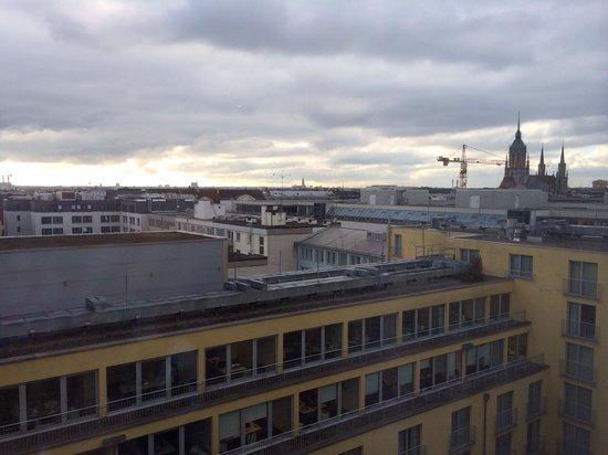 Le Meridien Munich: View from window