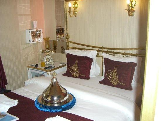 Sultan Tughra Hotel : Bedroom