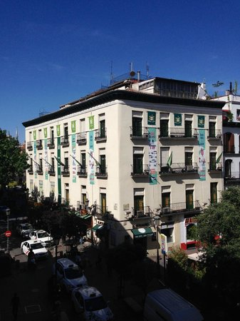 NH Collection Palacio de Tepa: вид с балкона 1
