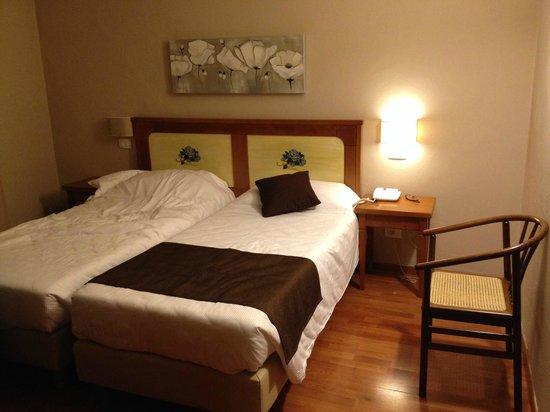 Hotel Sempione: Standard twin room