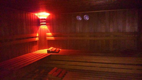 NH Wien Belvedere: Sauna
