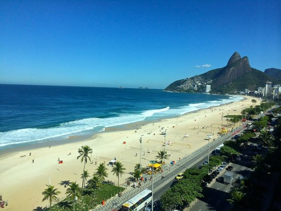 Caesar Park Rio de Janeiro Ipanema Managed by Sofitel: The view from my room to the south